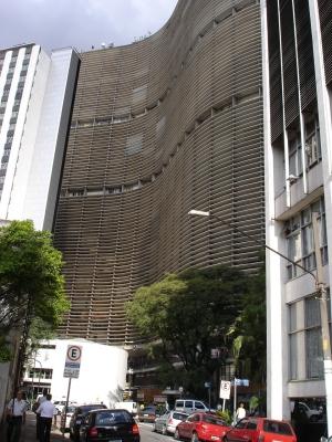 Edif�cio Copan, em São Paulo