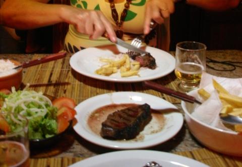 Lugares improváveis: churrasco argentino…no sul da Bahia