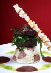 Prato principal do restaurante É, durante essa Restaurante Week Recife e Olinda