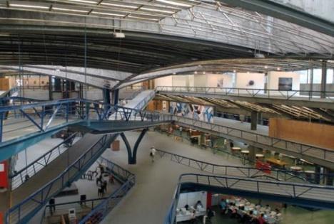 Interior do Centro Cultural São Paulo. Divulgação