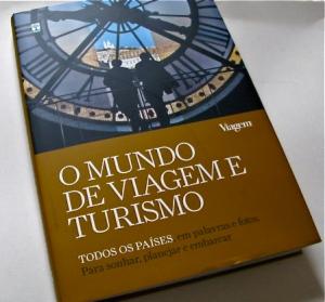 livro o Mundo de Viagem e Turismo