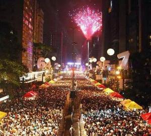 Reveillon na Paulista