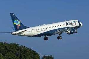 Próxima Viagem: Tudo Azul no primeiro vôo!