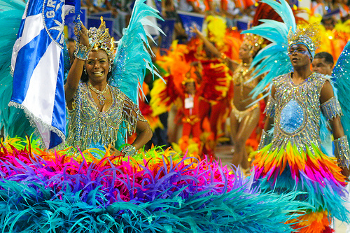 Carnaval do Rio de Janeiro. Foto dubiella, Flickr