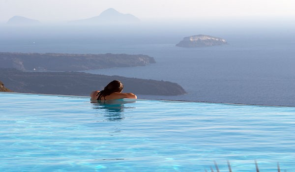 Piscina do Hotel Anastasia, Grécia