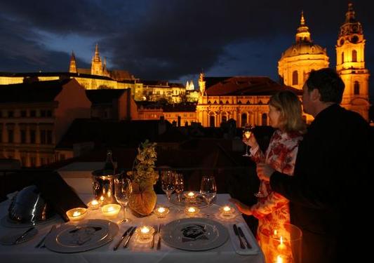 Vista do Aria, o mais luxuoso, em Praga.