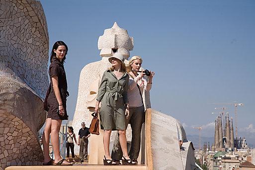 Barcelona é o plano de fundo do filme de Vick, Cristina e (adivinhe) Barcelona, é claro!