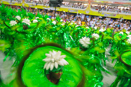 Carnaval no Rio de Janeiro.Foto: dubiella, Flickr