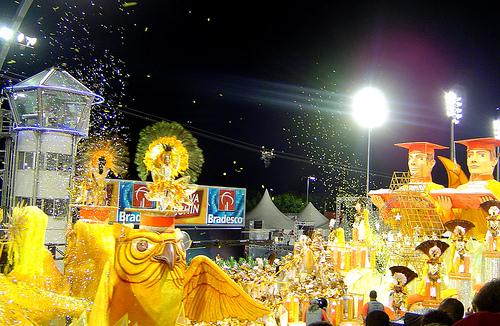 Carnaval de São Paulo. Foto Cltn, Flickr
