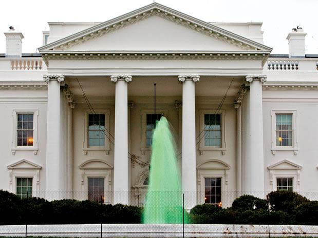 Saint Patrick's Day Washington. Fonte: Portal Terra (Foto: AP)