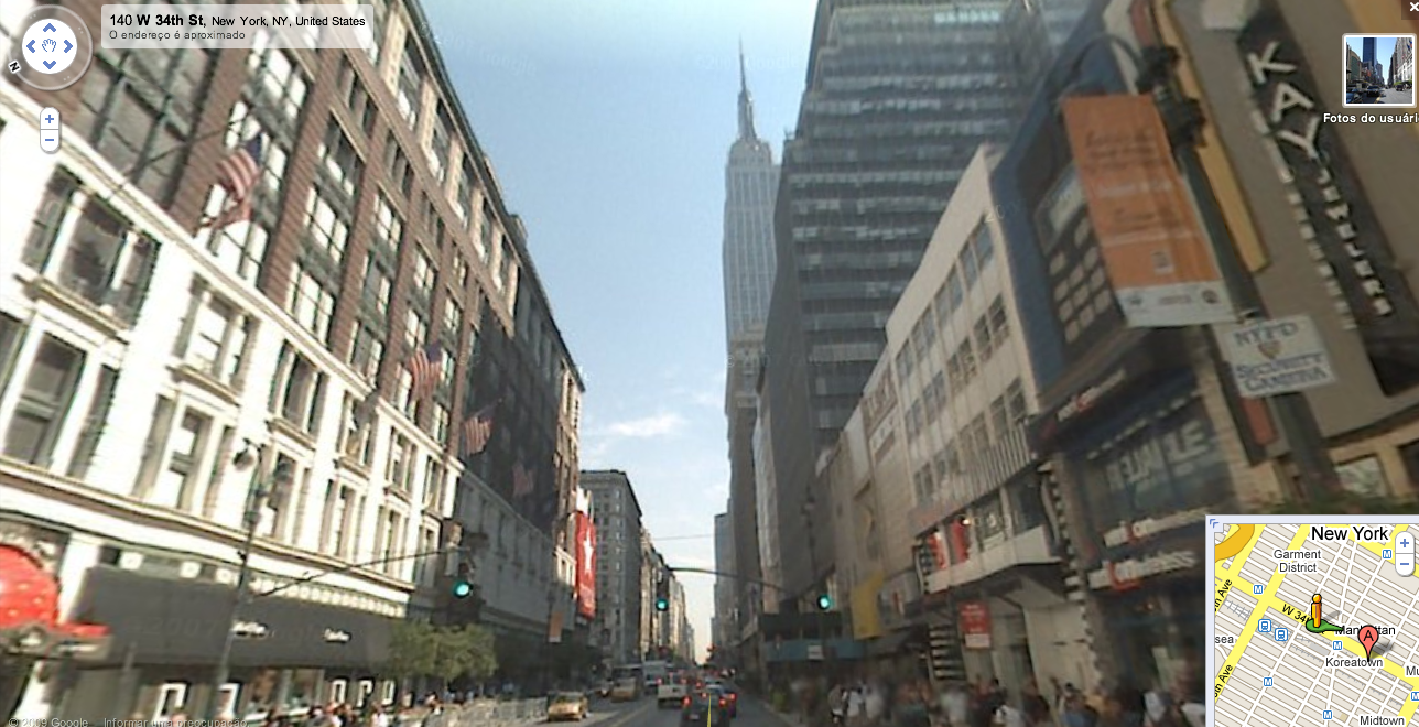 Google Street View Nova York