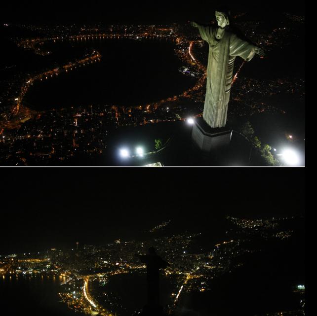 """""""Hora do Planeta"""" no Rio de Janeiro"""
