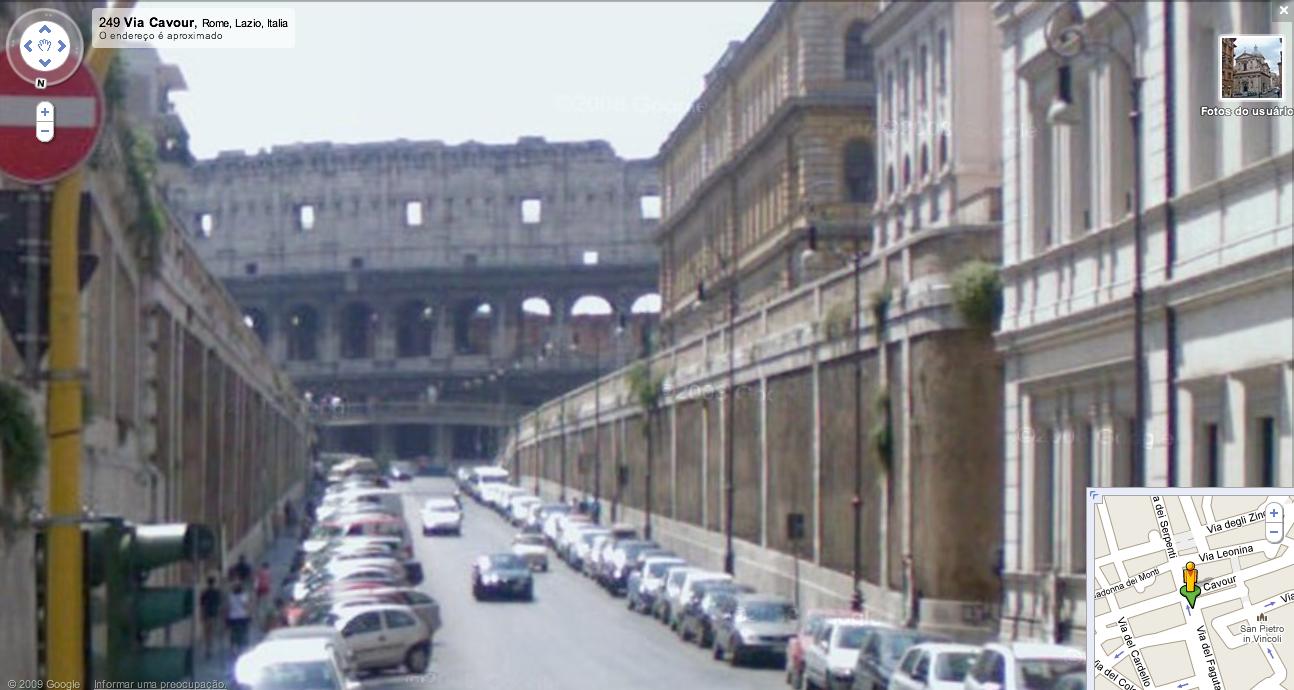 Google Street View Roma