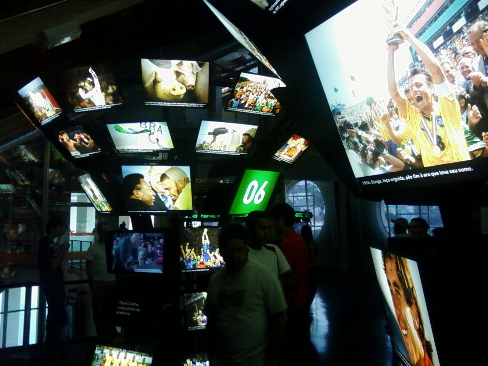 Roteiro cultural : O Museu do Futebol em São Paulo