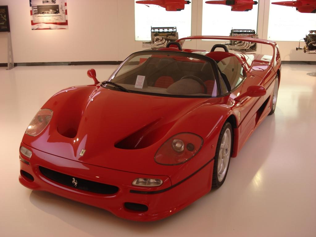 F50, um dos clássicos da Ferrari. Foto: Adr.Ben
