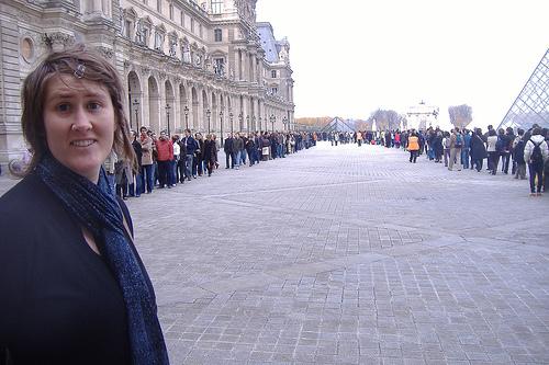 Vivendo e aprendendo: Museu do Louvre sem filas!