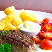 Steak no ponto, do Gula Gula
