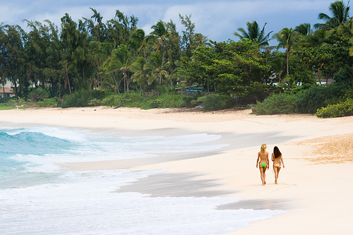 Sunsei Beach, na North Shore em Oahu. Foto: Kanaka's Paradise Life, Flickr