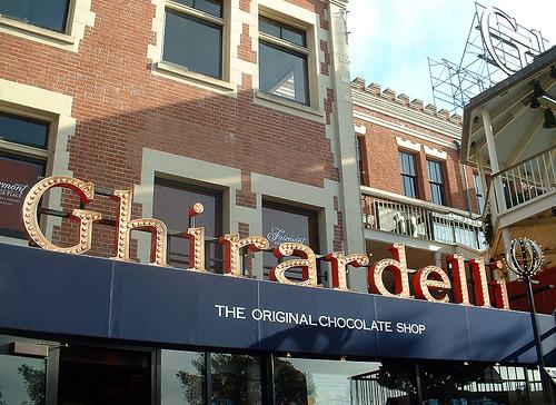 fábrica de chocolate Ghirardelli.Foto: neesflynn