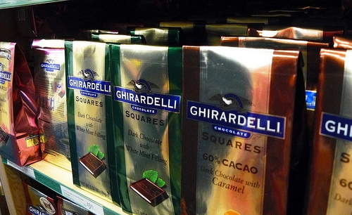 Chocolates Ghirardelli. Foto: sea turtle, Flickr