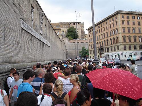 """A """"filinha"""" que você pode evitar no Museu do Vaticano. Foto: jonathan_moreau, Flickr"""