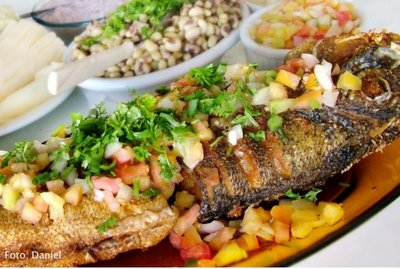 Um dos principais pratos: Tucurané!