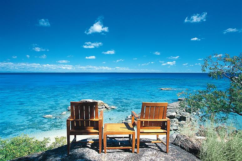 Em visita as ilhas vizinhas...Foto: www.lizardisland.com.au