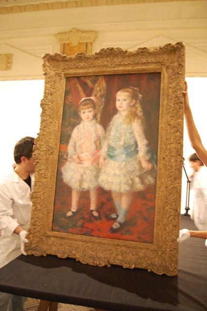 As meninas de Renoir chegando a Porto Alegre. Foto: www.margs.rs.gov.br