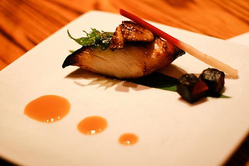 Um dos pratos servidos no Nobu. Foto: jamesjyu, Flickr