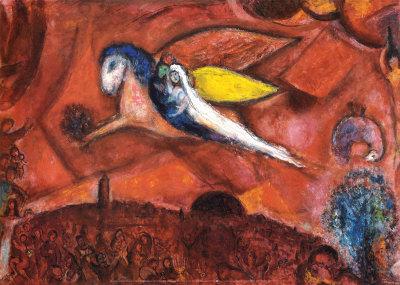 Cantiques IV, uma das obras de Chagall, em BH. Foto: anodafrancanobrasil.cultura.gov.br