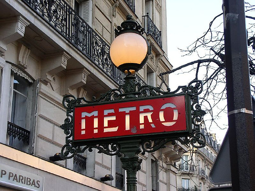 Metrô Paris