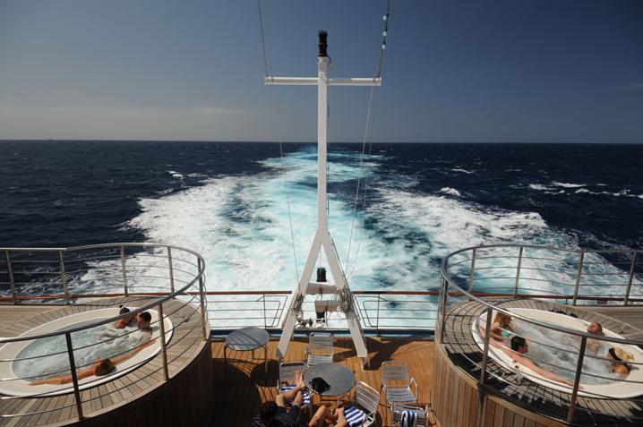 Vista do Gran Voyager. Foto: Divulgação