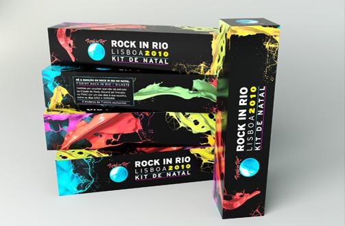 Kit Rock in Rio Lisboa. Foto: Divulgação