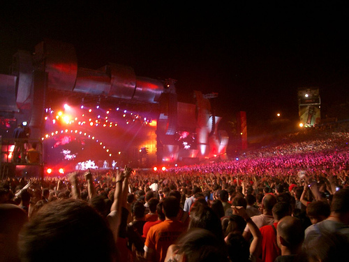 Palco principal do Rock in Rio Lisboa. Foto: coffee is for closers, Flickr
