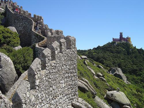 Castelo dos Mouros em Sintra, Portugal