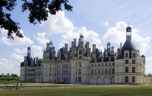 Castelo de Chambord  Vale do Loire