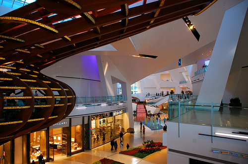 Aria Las Vegas shopping