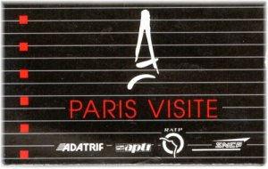Cartão Paris Visite