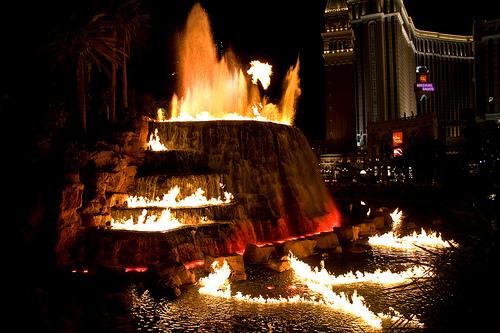 Vulcão Mirage Las Vegas