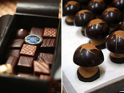 Chocolate da Maison du Chocolat em Paris