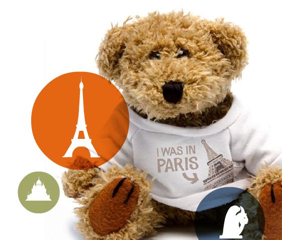 Vivendo e aprendendo: Iwasin, uma loja de presentes fofos de Paris!