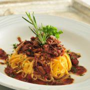 Ragu do restaurante Vecchia Cucina