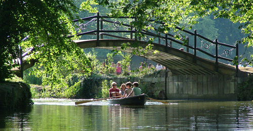 Passeio de barco em Oxford