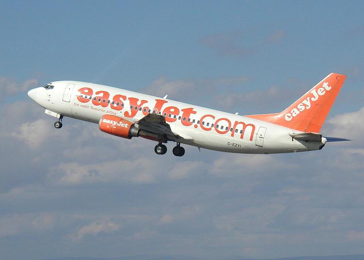 Avião Easyjet