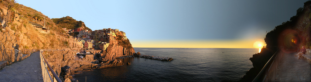 Manarola, em Cinque Terre