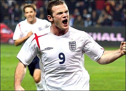 Wayney Rooney England