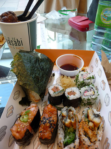 wasabi fast food Londres