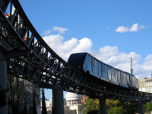 Monorail em Las Vegas