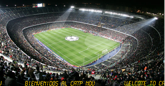 camp nou estádio do barcelona