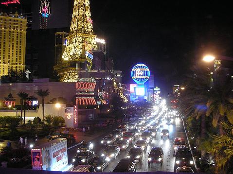 trânsito Las Vegas
